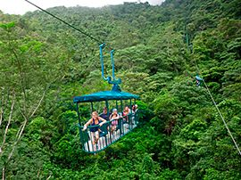 braulio carrillo aerial tram tours costa rica